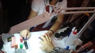 Art-стиль - Мастер-класс о новинке в индустрии ногтевой эстетики – био-пудре - видео 2